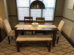Used Basque Honey Collection Dining Table Buffet By Crate And