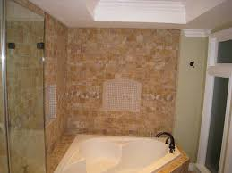 bathroom bathup drop in tub with shower corner jetted bathtub