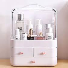 rman make up organizer schublade staubdicht kosmetik aufbewahrung organizer aufbewahrung 180 drehbar schmink aufbewahrung kosmetikbox für