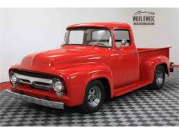 1956 Ford F100 For Sale | ClassicCars.com | CC-1041342 1956 Ford Pickup Truck F100 Kustom Sweet Driver Ready To Go Drive Parts 50l V8 Dohc Engine Truckin Magazine Lost Wages Steve Stiwell Total Cost Involved Pick Up Custom Street Rod For Sale Youtube Walldevil That Looks Like A Rundown Old But Isn Gene Simmons Snakebit Sema Live Gallery Cabover Car Hauler Beautiful Hot Steemit Network