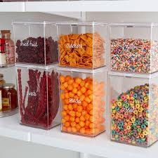 100 Storage Containers For The Home Edit Pantry Canisters