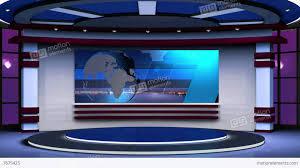 News TV Studio Set 63