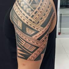 Mens Tribal Arm Tattoo