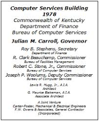 Kentucky Personnel Cabinet Position Description by Cot History Of It Organizations In Ky