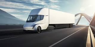 100 Semi Truck Pictures Tesla AllElectric Vs Conventional Diesel Continental Bank