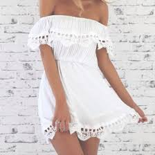 Dress Summer Fashion Girl Tumblr Cute Beach White
