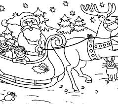 Santa Claus Coloring Pages Page Printable For Kids Toddlers Free Online Best