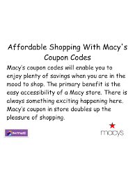 Macy Coupon 04 - PDF Archive Macys Coupons 2018 June Nice Price Favors Coupon Code Pinned September 17th Extra 30 Off At Or Online Via April Storenvy Promo Code Reability Study Which Is The Best Coupon Site Macy 04 Pdf Archive To Use In Store Recent Store Deals Jcpenney Coupons Codes Up 80 Nov19 New Online Printable Pin By Dealsplus And On 10 25 More Shopping November 2019 Promo Vip