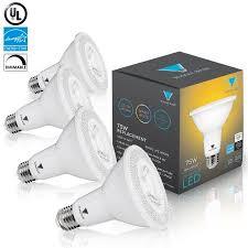 triangle bulbs led bulbs pack of 4 12 watt 75 watt par30 led