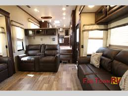Fifth Wheel Campers With Front Living Rooms enjoy five slides in the palomino columbus compass 386fkc fifth
