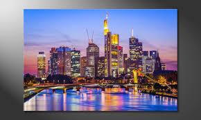 das wandbild frankfurt skyline
