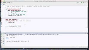 Python Decorators Simple Example by Python How To Write And Use Decorators In Hindi Youtube