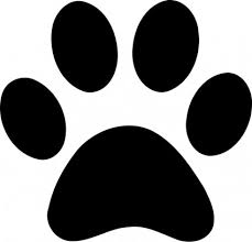 cat paw prints cat paw print image free clip free clip on