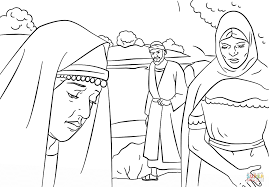 Click The Lydia And Paul Coloring Pages To View Printable Version Or Color It Online Compatible With IPad Android Tablets