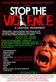 Durty Burbz Truck Club'z Stop The Violence Movement (A Unified ...