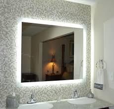 wall mirrors lighted bathroom vanity wall mirror led lighted