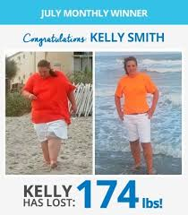 IdealShapes July Weight Loss Contest Winners Kelly Mark