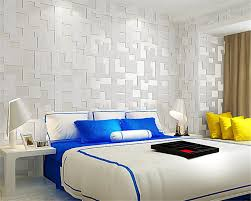 beibehang europäischen tapete mode gitter tapete weiß gelb 3d tapete schlafzimmer wohnzimmer dekoration 3d tapete