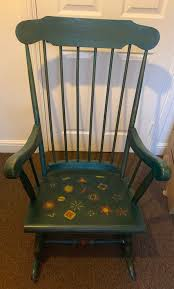 Rocking Chair In BR2 Bromley For £40.00 For Sale | Shpock Painted Vintage Rocking Chair Dark Bluepainted Slatback Armed Sale 15 Best Paint Colors For Small Rooms Pating Antique Spinet Below Fitted Bookcase In Cottage Living Room Update A Nursery Glider The Diy Mommy Shabby Chic Blue Painted Rocking Chair Fredericia Fniture Stingray Design Adirondack Flat Shine Company 4332dg Vermont Green Lincombe Teak Hardwood Garden With Cushion Complete Guide To Buying Polywood Blog
