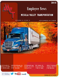 Mvt Newsletter Oct 2015 By MVT Services - Issuu Mesilla Valley Transportation Cdl Truck Driving Jobs Abilene Motor Express Truckers Review Pay Home Time Equipment Nm State Football On Twitter Thanks To Trucking For Mvt Mobile Apps Reviews Complaints Youtube Solutions Give Away 42000 In Fuel Efficiency Consulting And Testing Innometric Mpg Us Xpress Proves Reability Of The Tc10 Owner Perfect