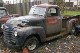CHEVY 3100 STEPSIDE PICKUP 1952 PROJECT SPLIT SCREEN 5 WINDOW 1947 Chevrolet 3100 Pickup Truck Ute Lowrider Bomb Cruiser Rat Rod Ebay Find A Clean Kustom Red 52 Chevy Series 1955 Big Vintage Searcy Ar 1950 Chevrolet 5 Window Pickup Rahotrod Nr Classic Gmc Trucks Of The 40s 1953 For Sale 611 Mcg V8 Patina Faux Custom In Qld Pictures Of Old Chevy Trucks Com For Sale