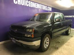 2005 Used Chevrolet Silverado 1500 4x4 Extended Cab Short Bed Good ...