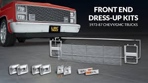 Front End Dress Up Kit For Chevy & GMC Trucks - TruckU With LMC ... Lmc Truck Shortbed Cversion S7 Ep 31 Youtube Dash Replacement Page 2 Dodge Diesel 1998_dodge_ram500_4x4ifted_1_lgw Dodge Trucks Pinterest Aftermarket Valvetrain Duramax Roller Rockers March 2011 Power Candy Rizzos 2001 Ram 1500 Hot Rod Network Its Never Been A Snap But Sourcing Truck Parts Just Got Trucks Replacement Fuel Tank 1989 Chevy S10 Mini Truckin Quick Visit Photo Image Gallery Mayhem Brackets Ram 3500 Mopar And My New Cover Dodgeforumcom Install Multipurpose Industrial Polyvinyl Mats Mip For A