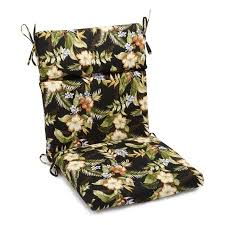 High Back Patio Chair Cushions by Blazing Needles 22 X 45 In Outdoor High Back Patio Chair Cushion