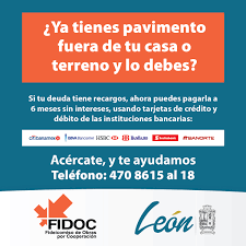 Requisitos De Pavimentación FIDOC