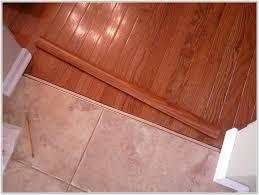 wood floor to tile transition strips tiles home design ideas