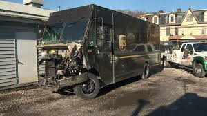 100 Ups Truck Accident Police UPS Driver Found With Alcohol And Marijuana After Crashing