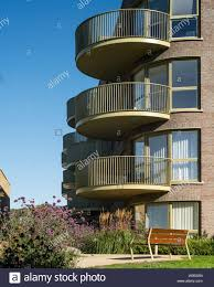 100 5 Architects View To Balconies From Landscaped Garden Kidbrooke Village