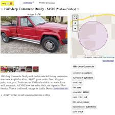 THOUGHTS?? Found This Gem On #craigslist Www.jeepbeef.com ______ ... Craigslist Nissan Frontier New Car Models 2019 20 Cars For Sale San Diego Top Designs Denver And Trucks By Dealer Las Vegas Owner Prescott Carsiteco Old Jeep Truck On Vehicle Scams Google Wallet Ebay Motors Amazon Payments Ebillme Reviews Bakersfield Ca Mohave County Az Motorcycle Motorviewco At 5900 Would You Dual It Out With This 1989 Comanche