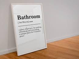 badezimmer definition wandbild bild poster kunstdruck a4 wc