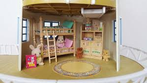 Calico Critters Master Bathroom Set by Sylvanian Sundays Children U0027s Bedroom Set Youtube