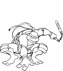 Dessiner Tortue Ninja Awesome Coloriage Tortue Coloriage Panda Anti