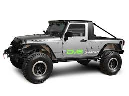DV8 Off-Road Truck Conversion (07-18 Jeep Wrangler JK 4 Door ...