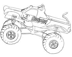 Announcing Monster Truck Pictures To Color 10 Jam Coloring Pages ...