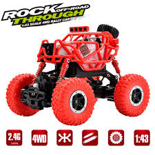 100 Best Rc Monster Truck RC Rock Crawler Car 4WD 4 Modes Steering 24Ghz Radio Control Toy