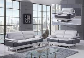 cool gray leather living room furniture 35 in with gray leather