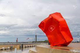 100 Arne Quinze Rock Strangers Art Installation By On The Seabank
