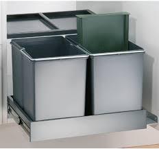 wesco mülleimer küche einbau ab 50 cm küchenschrank 3 fach