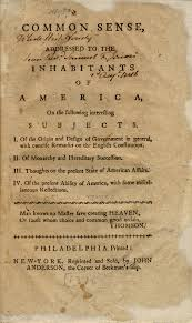 In His 1776 Pamphlet Common Sense The British Revolutionary Thomas Paine Wrote We Have It Our Power To Begin World Over Again