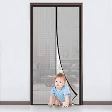 mycarbon magnet fliegengitter tür insektenschutz balkontür fliegenvorhang 90x210cm klebmontage ohne bohren vorhang für balkontür wohnzimmer
