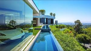 104 Beverly Hills Modern Homes Contemporary Luxury Home With Dramatic Views Youtube