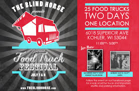 Food Truck Festival - The Blind Horse Restaurant & Winery Milwaukee Food Trucks Unique 32 Best Truck Ideas Images On Brat House Traditional The Cupcakearhee Roaming Hunger 6 Chicago To Try Now Eater Timbers Bbq Double Bs In Wi Yowbellies Foodtruckcarnival Whats On The Menu Get A Taste Of 2nd Annual To In Fatty Patty Twitter Thursday County Oscarsonaroll Gouda Girls