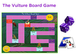 The Vulture Educational Board Game For Kids