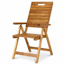 Denia Wooden Folding Recliner Armchair - B&Q For All Your ...