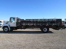 100 Best Trucks Of 2013 Used HINO 268 24ft Stake Bed With Lift Gate At Industrial