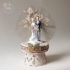 Victorian Cake Topper Vintage Wedding